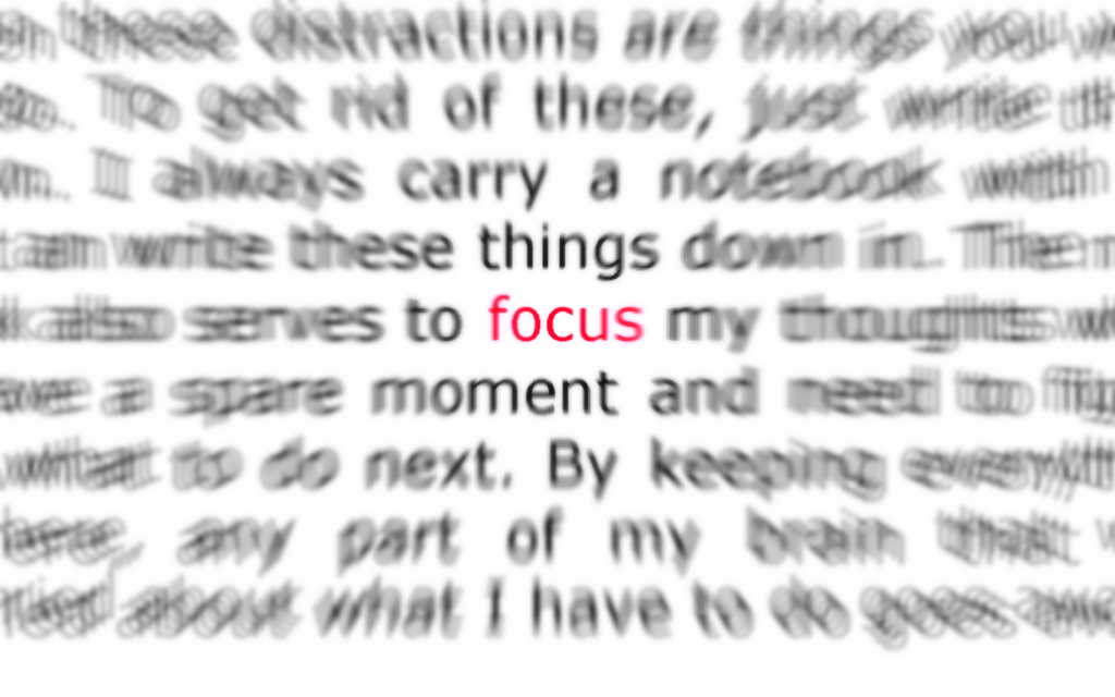 i cant focus on writing my paper The 7-step method to find focus for writing it's my writer's rehabilitation program, and i offer it here to all of you in hopes that it will help.