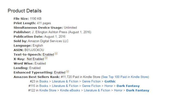 Book 2 Launch Rankings