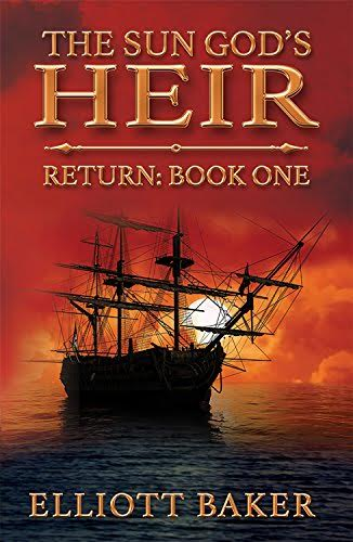 The Sun God's Heir_Return-Book 1 Cover