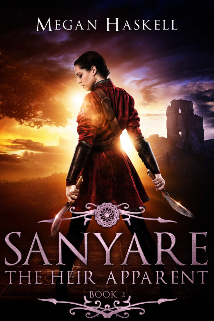 Sanyare The Heir Apparent Cover